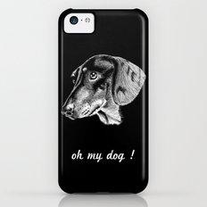 oh my dog ! iPhone 5c Slim Case