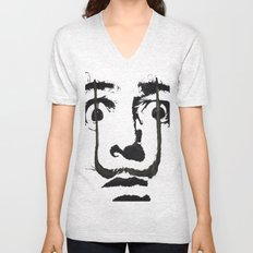 I am drugs ( Salvador Dali ) Unisex V-Neck