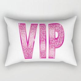 VIP Pink Rectangular Pillow