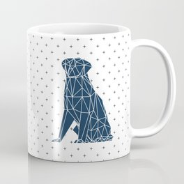 Faceted Dog - Labrador Coffee Mug