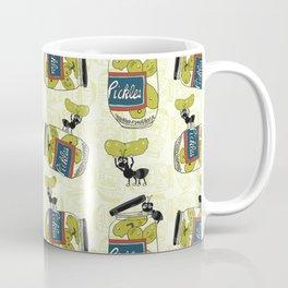 The Pickle Thief Pattern Coffee Mug