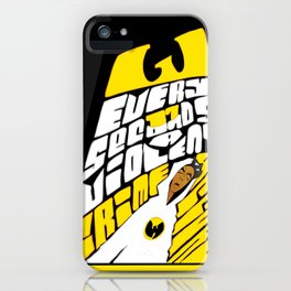 Every 17 Seconds... iPhone Case