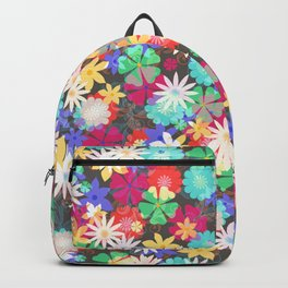 Confetti flowers Backpack