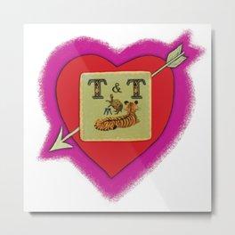 TNT love Metal Print