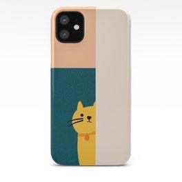 Little_Cat_Cute_Minimalism iPhone Case