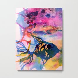 Little Fish Metal Print