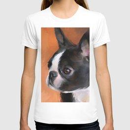Perky Boston Terrier T-shirt