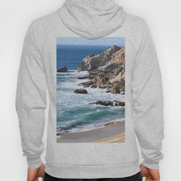 CALIFORNIA COAST - BLUE OCEAN Hoody