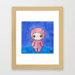Moonkhin 1 (pink tranquil) Framed Art Print