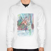 friendship Hoodies featuring Friendship by Giulia Colombo