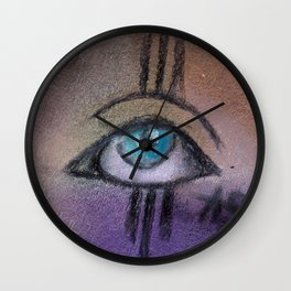 eye only Wall Clock