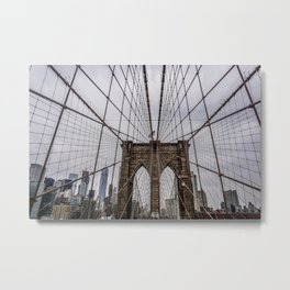 Brooklyn Bridge-pt.2 Metal Print