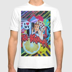 Culture Call White Mens Fitted Tee MEDIUM