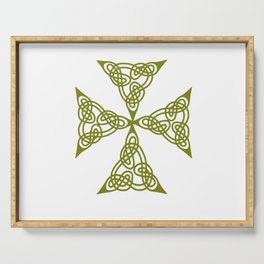 Lindisfarne St Johns Knot Grunge Serving Tray