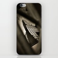 building iPhone & iPod Skins featuring Building by Mauricio Santana