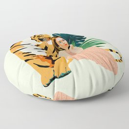 Tiger Spirit Floor Pillow