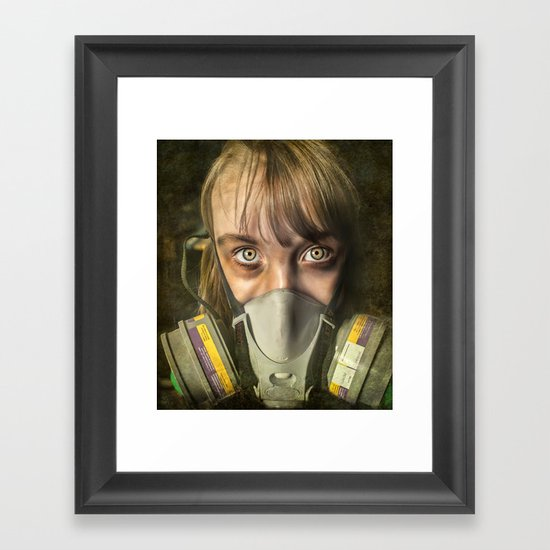 The day after ~ Survivor (treated version) Framed Art Print