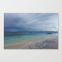 Gili T Beach #5 Canvas Print