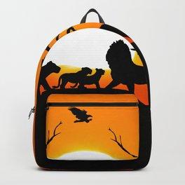 Lion family Backpack