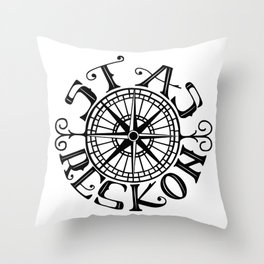 Stas Reskon Throw Pillow