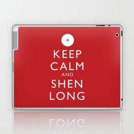 Keep Calm and Shen Long Laptop & iPad Skin