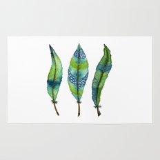 Mystic Sea Feather Trio Rug