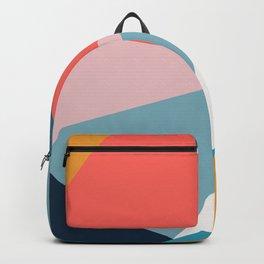 Modern Geometric 34 Backpack