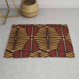 African Styles Pattern 6 Rug