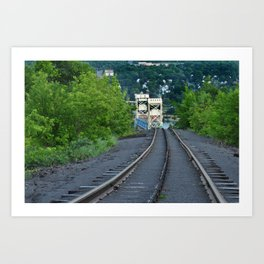 Lift Bridge Art Print
