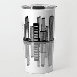 Singapore city skyine Travel Mug