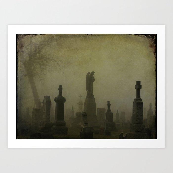 Night Fog Art Print