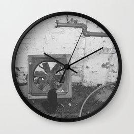 Vent Wall Clock