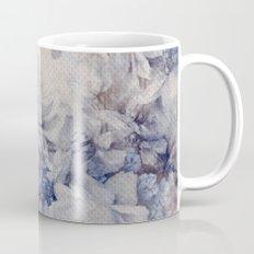blue vintage floral Mug