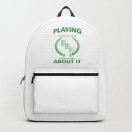 Mahjong Tile Based Chinese Game Gameplay Gamble China I Am Playing Mahjong Gift Backpack
