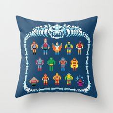 Heroic Masters of the Universe Throw Pillow