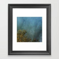 First Flurries Framed Art Print
