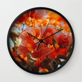 225 - Almost Autumn Wall Clock