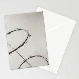 Razor Wire Stationery Cards