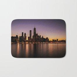 Chicago Skyline - new! Bath Mat