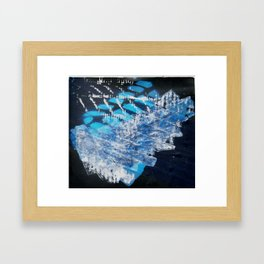 Materials Framed Art Print