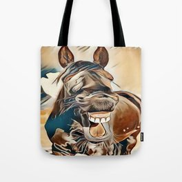 Laughing Jack Tote Bag