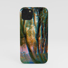 Trippy Trees iPhone Case