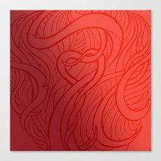 LOVE HAIR Canvas Print
