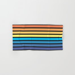 Stripe Sunset Hand & Bath Towel
