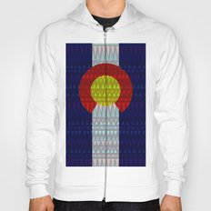Colorado Flag/Geometric Hoody