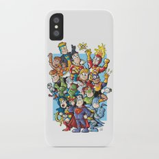 costume party iPhone X Slim Case