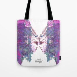 Feathers in her Hair by Jane Davenport Tote Bag