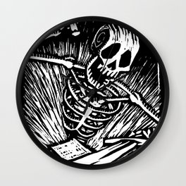 Sword Wall Clock