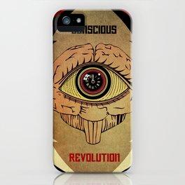 Concious Revolution  iPhone Case
