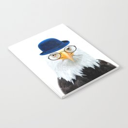 Funny Eagle Portrait Notebook